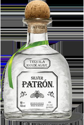 Silver Patrón Tequila