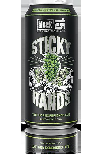 Block 15 Sticky Hands beer